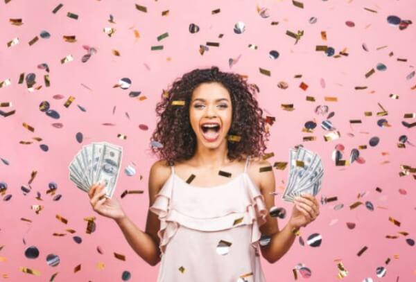 woman, lottery